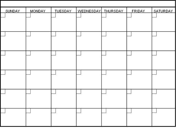 Best 20+ Blank calendar pages ideas on Pinterest | Free blank ...