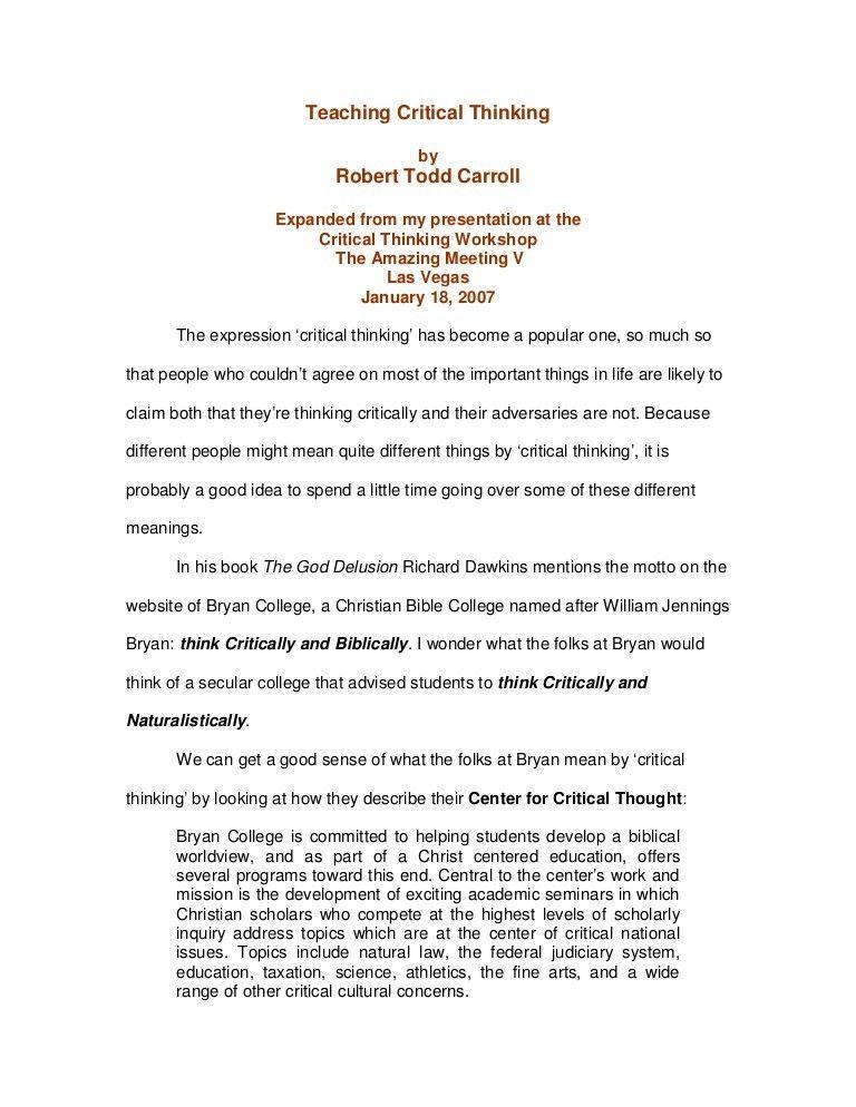 75921073 teaching-critical-thinking