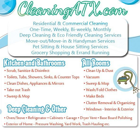 20 Cleaning Services Flyers Templates