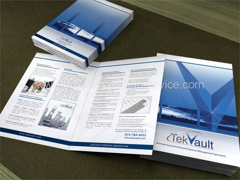 Financial Consultant Pamphlet, Design, Free Inspiration