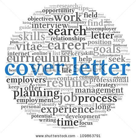 Words For Cover Letter