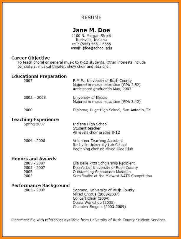 high school activities resume template sample resume college