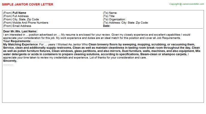 Janitor Job Title Docs