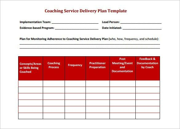 Delivery Schedule Template – 9+ Free Sample, Example Format ...