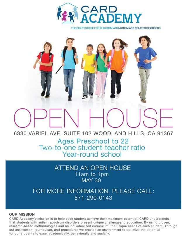 Private School for Students with Autism Hosts Open House in ...