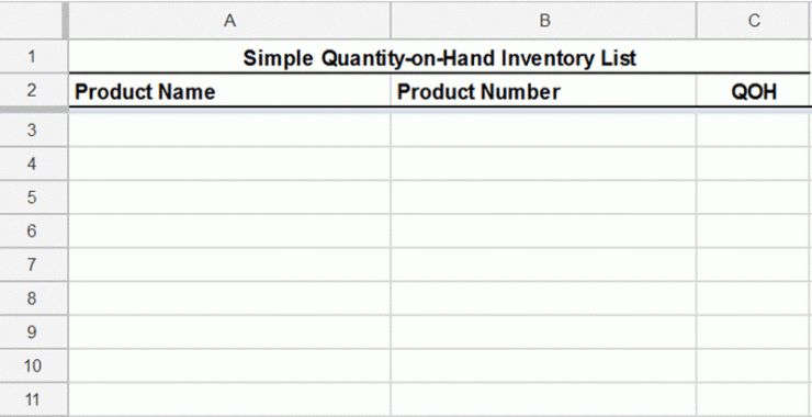 Free Inventory Template + How to Track and Count Physical Inventory