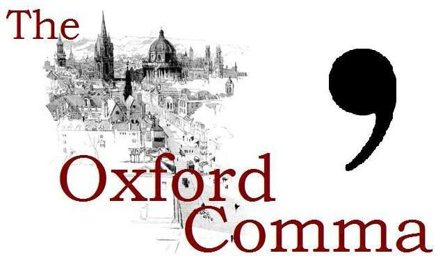 Insert the Oxford Comma – The Write House