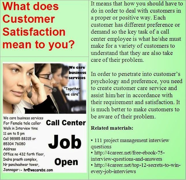 15 best Customer service representative interview questions images ...