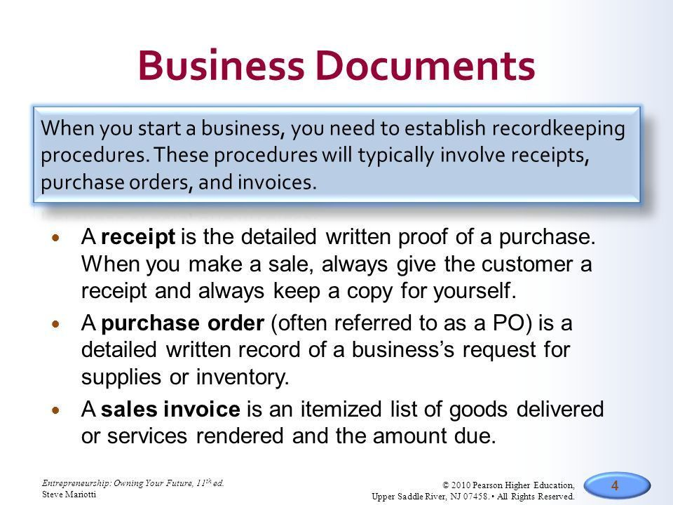 CHAPTER Section 14.1 Recordkeeping Section 14.2 Accounting Systems ...