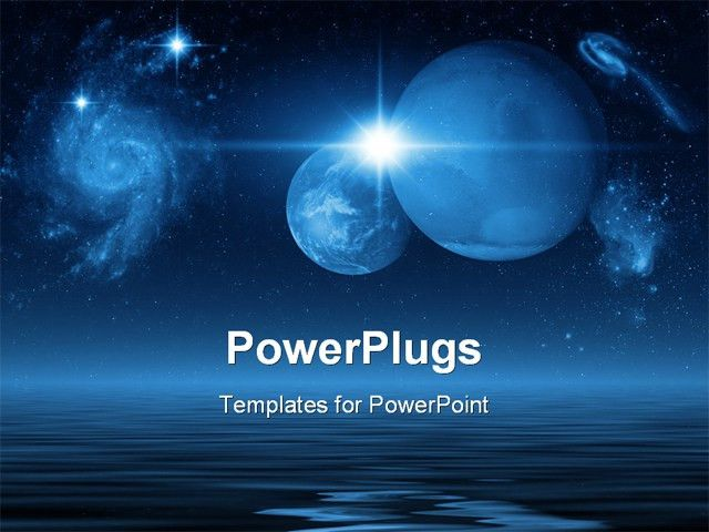space powerpoint template space powerpoint templates and ...