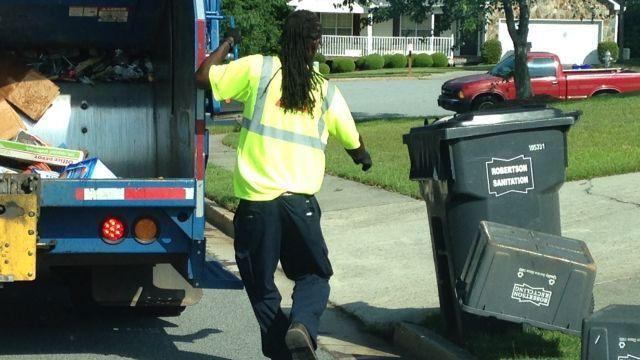 New Georgia law fines drivers passing garbage trucks - CBS46 News