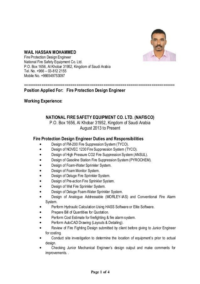 sample fire resume resume example best 25 firefighter resume
