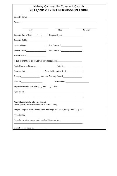 Fill Any PDF Free Forms for waiver : Page 1