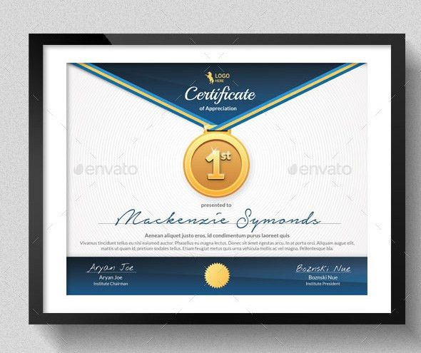 Sports Certificate Templates - Free Word, PDF Documents | Creative ...