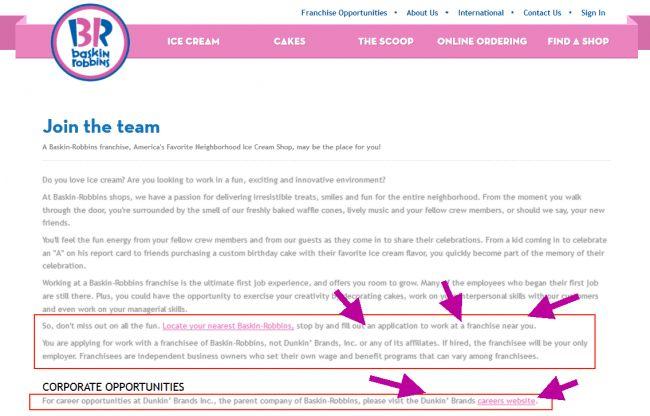 Baskin Robbins Career Guide – Baskin Robbins Application | Job ...
