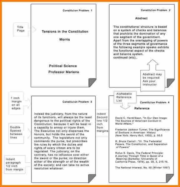 8+ examples of apa format papers | resume reference