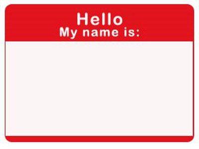 Name Badge Template | cyberuse