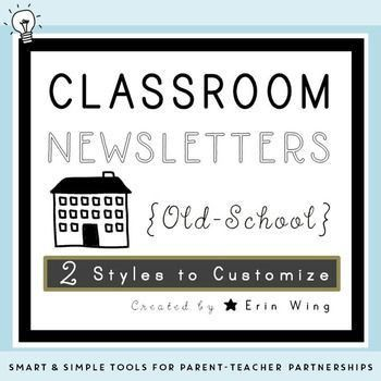 33 best Classroom Newsletter Templates images on Pinterest ...