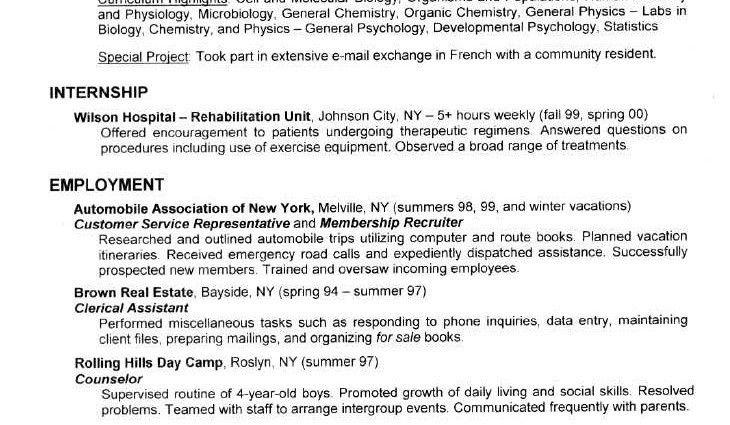 resume format for medical representative medical sales ...