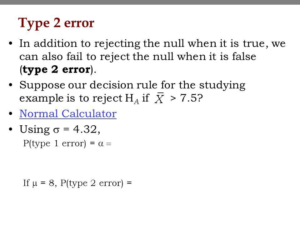 Topic 7 - Hypothesis tests based on a single sample Sampling ...