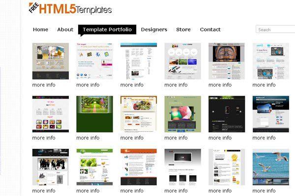 25 Beautiful & Creative HTML5 Portfolio Website Templates ...