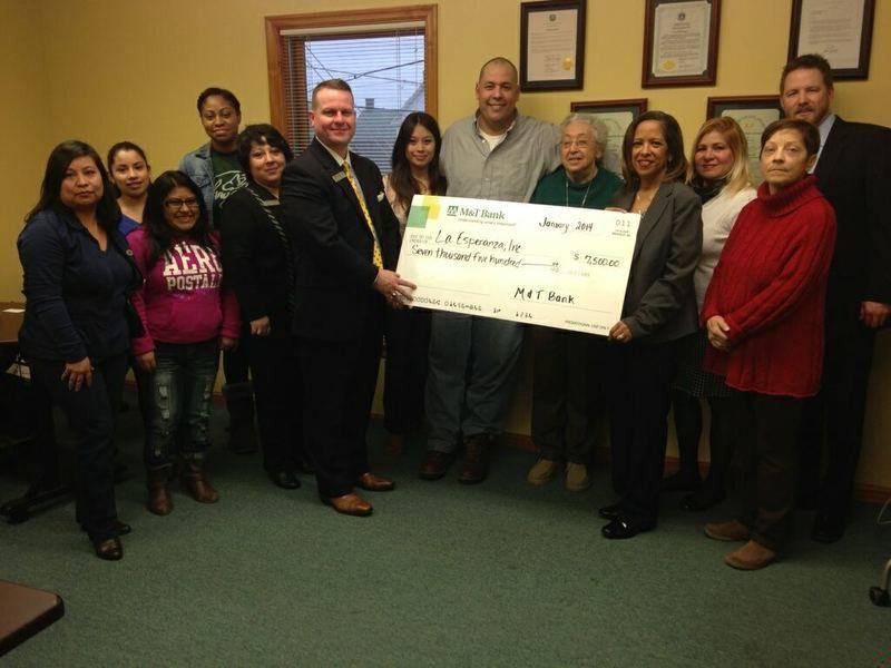 La Esperanza receives M&T Bank grant for Family Development ...