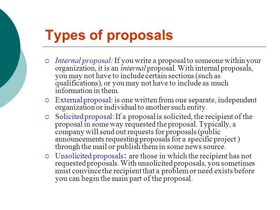 Writing an Effective Proposal - ppt video online download