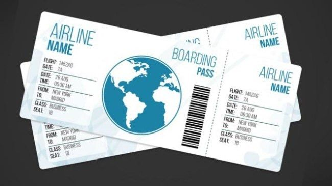 Printable Pretend Disney Tickets : 27 Best Airline Boarding Pass ...
