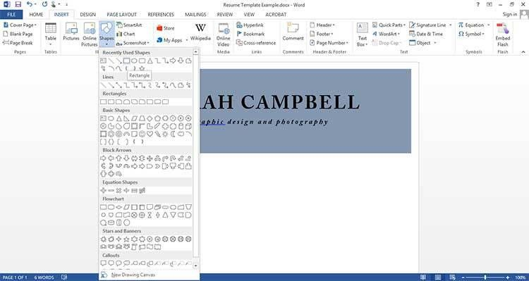 Etsy Entrepreneur Part II: How to Make Templates in Microsoft Word ...