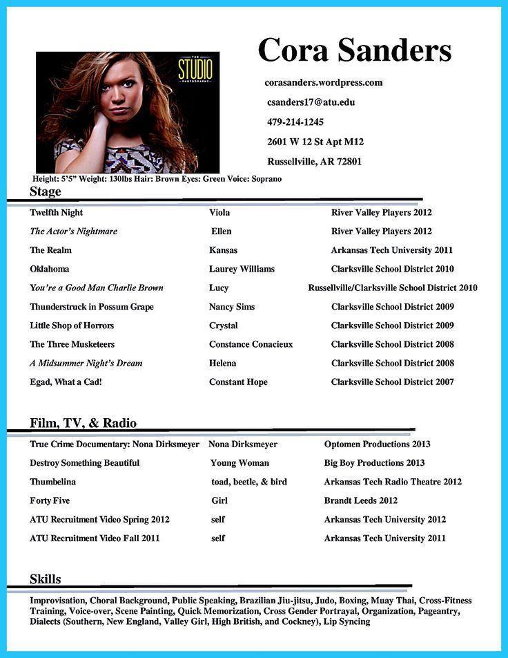 Download Actors Resume | haadyaooverbayresort.com