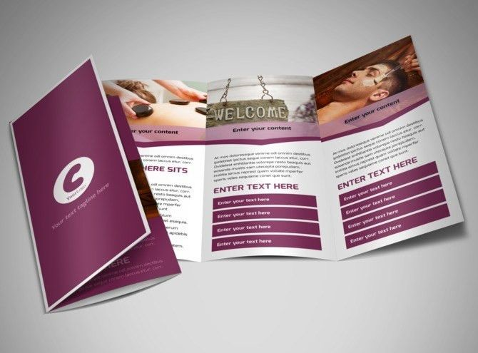 Spa Resort Brochure Template | MyCreativeShop