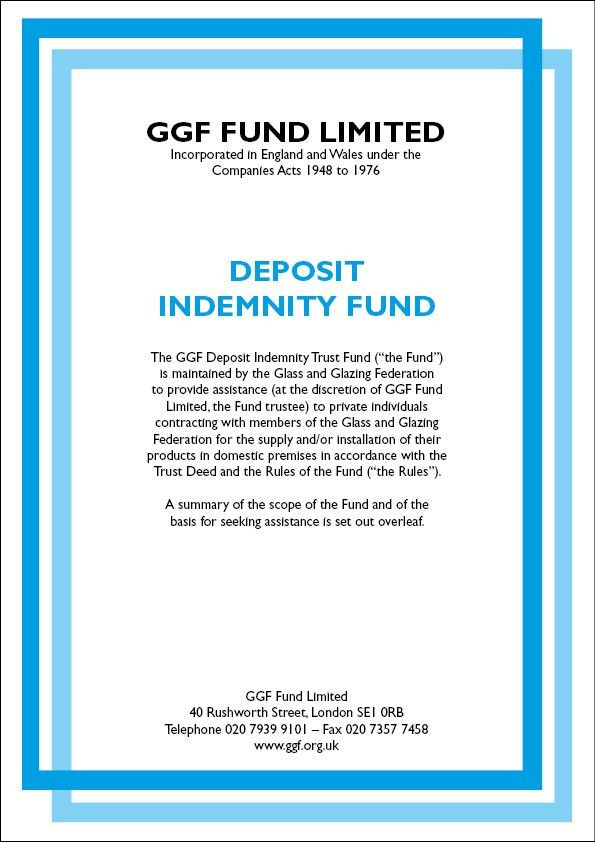 Free Deposit Protection with GGF Members | MyGlazing.com