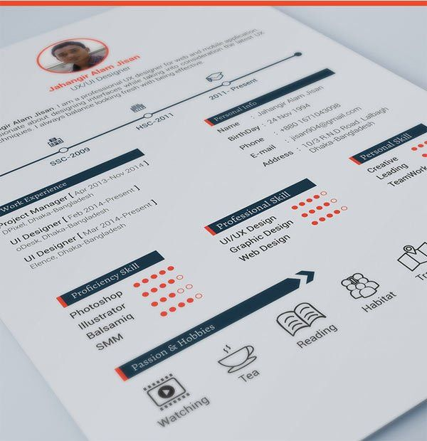3 Pages Resume Template Free Download | Graphics | Webmaster Tips