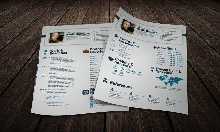 55+ Amazing Graphic Design Resume Templates to Win Jobs