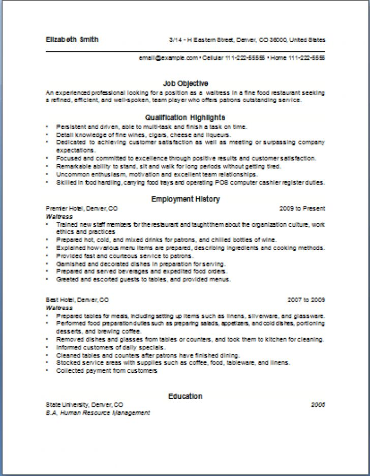 100+ [ Sample Resume For Hotel ] | Hotel General Manager Resume ...