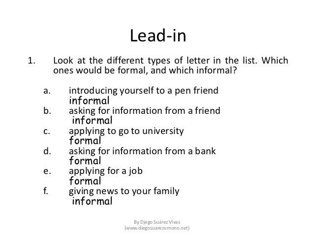 Writing a formal letter of application (job) paper 2 part 2