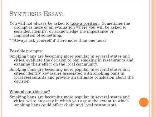 synthesis example essay synthesis essay presentation example resume examples essay rhetorical analysis essay advertisement how