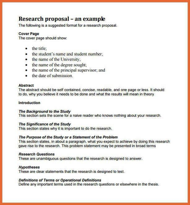 research plan template | bid proposal example