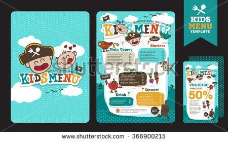 Free Template Kids Menu Vector - Download Free Vector Art, Stock ...