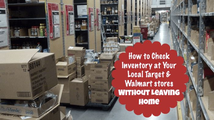 How to Check Inventory at Your Local Target & Walmart Stores ...