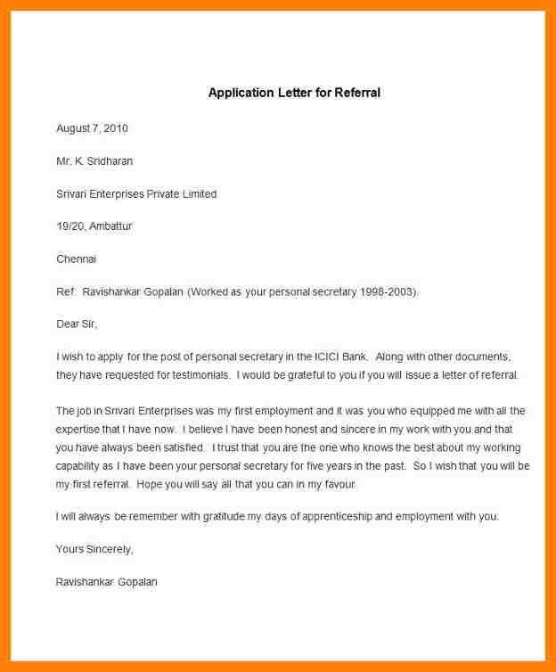 12+ letter of application sample | nanny resumed