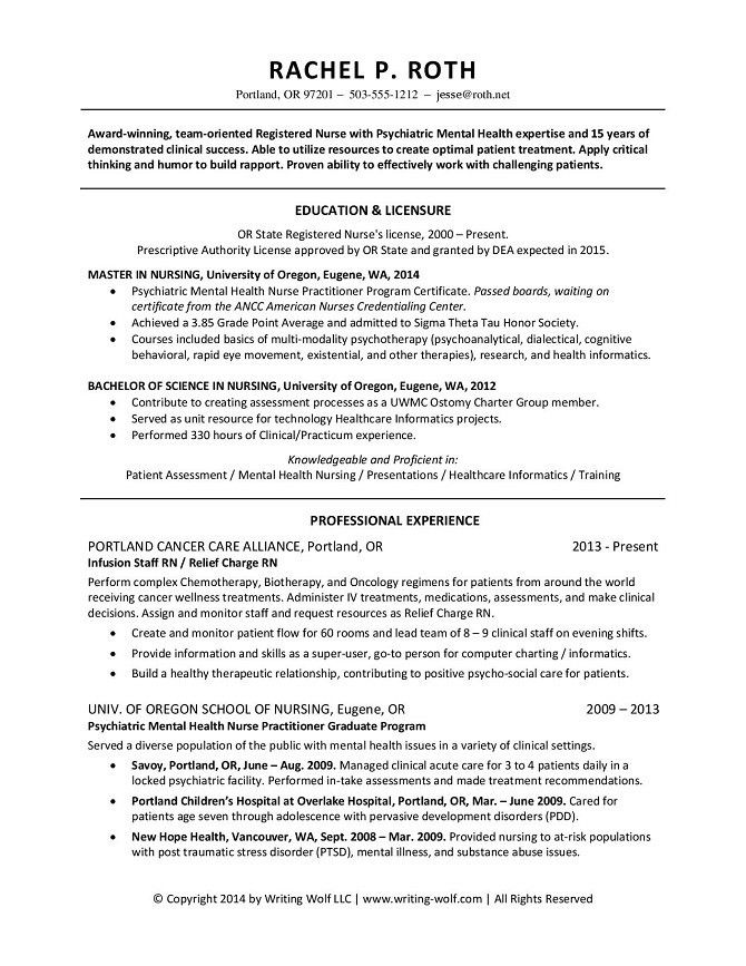 Practitioner Resume Example Nurse Practitioner Cover Letter - Health nurse cover letter