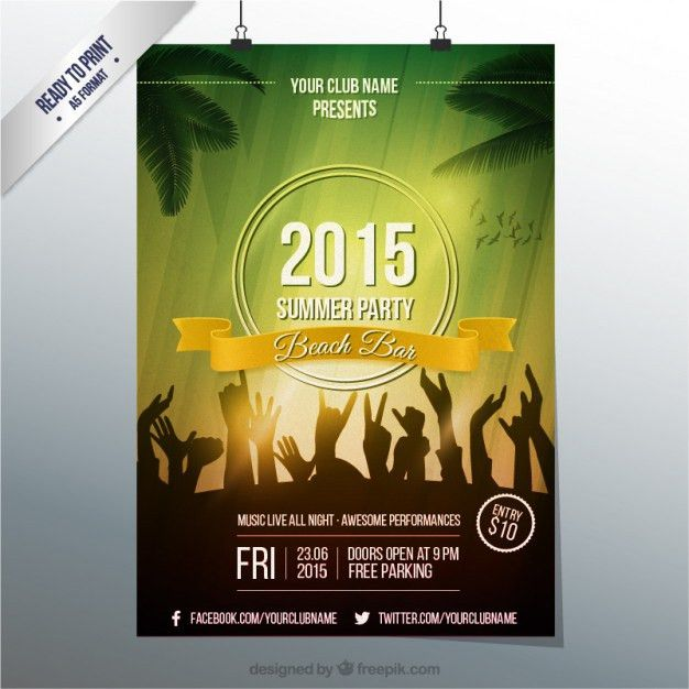 Disco Poster Vectors, Photos and PSD files | Free Download