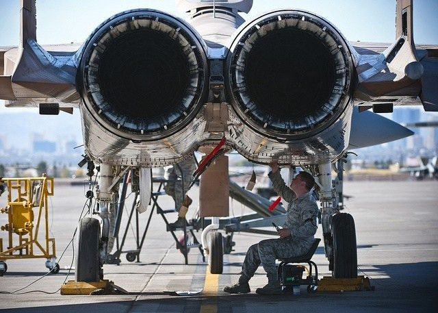 Jet engine mechanic for a fighter. | Pinteresting | Pinterest ...