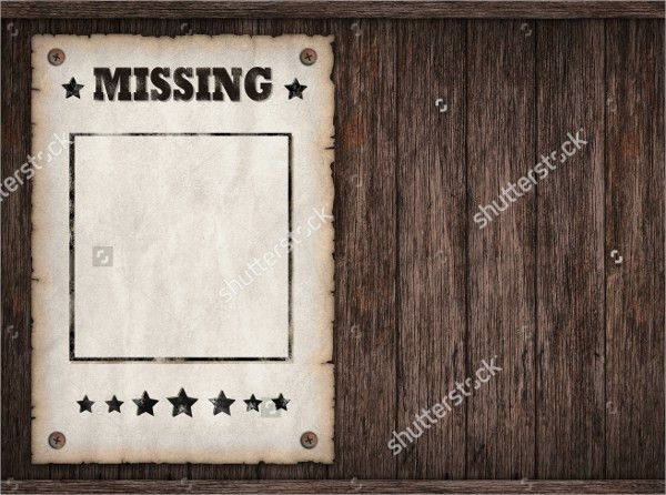 12+ Missing Poster Templates - Free PSD, EPS, AI Format Download ...