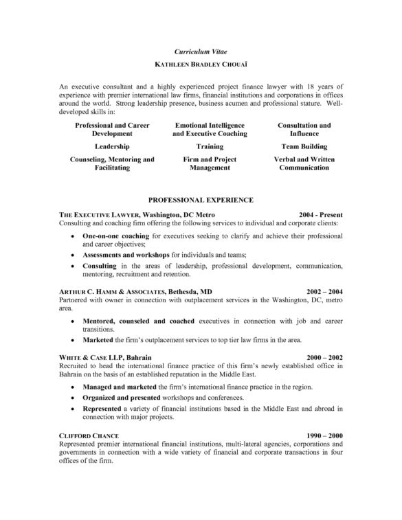 44 Effective and Simple Attorney Resume Samples That Might Help ...
