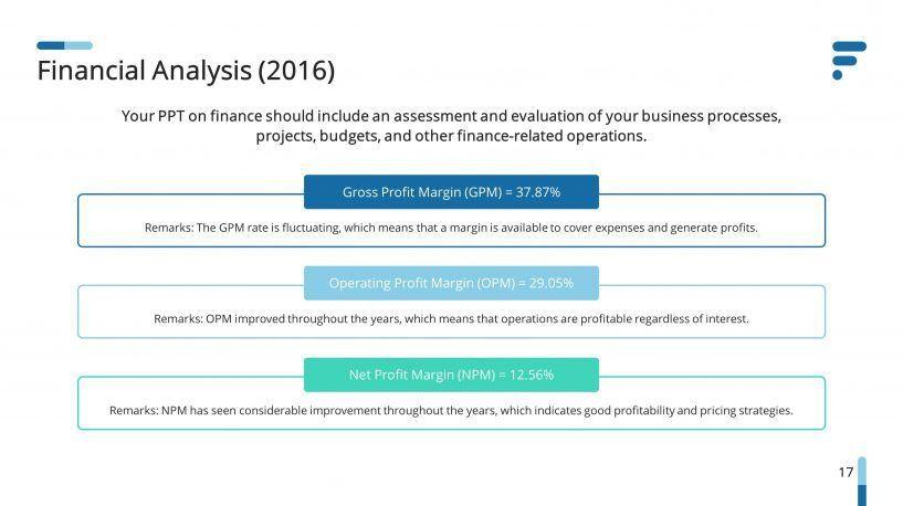 Finance Analysis Premium PowerPoint Template – SlideStore