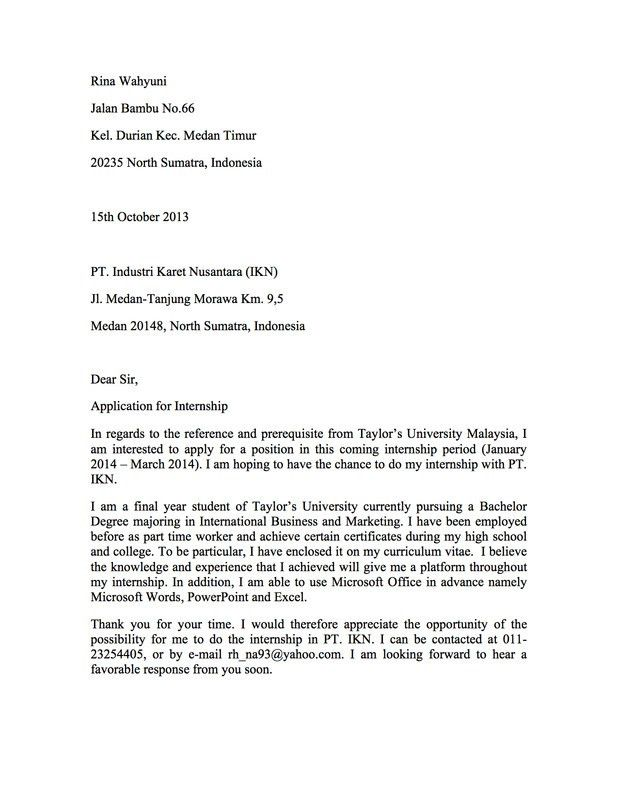 Deloitte Cover Letter - My Document Blog