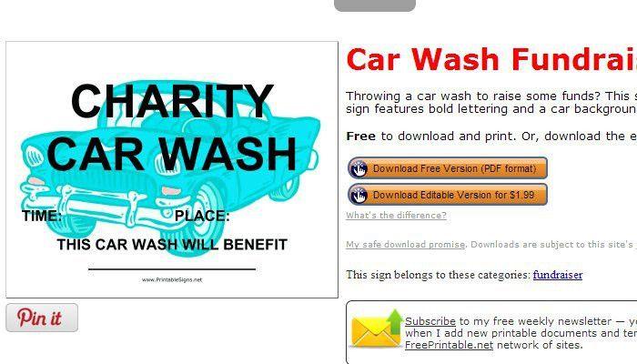 Free Printable Fundraiser Flyer Templates | Template Design