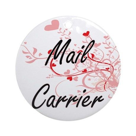 Mail Carrier Ornaments | 1000s of Mail Carrier Ornament Designs